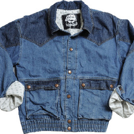HEADGOONIE - MARTY DENIM JACKET PERFECT REPLICA