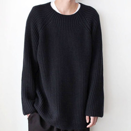 Over Knit / NAVY