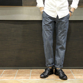 GROWN & SEWN - INDEPENDENT CHAMBRAY CHINO
