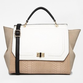 ASOS - New Look Rita Rouched Winged Satchel