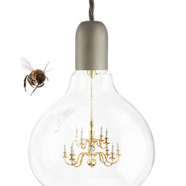 King Edison - King Edison pendant lamp by Young and Battaglia for Mineheart