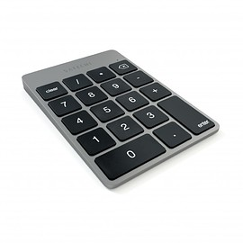 Satechi - Satechi Slim Rechargeable Aluminum Bluetooth Keypad - Space Gray