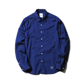 uniform experiment - PEN POCKET DOT BUTTON REGULAR COLLAR SHIRT