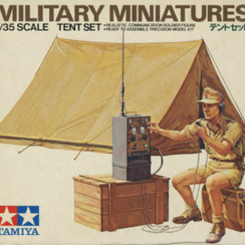 TAMIYA - 1/35 SCALE TENT SET