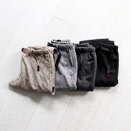 GRAMICCI - GRAMICCI BONDING KNIT FLEECE SLIM PANTS