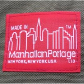 "Manhattan Portage - Manhattan Portage ""MADE IN"" Tag"