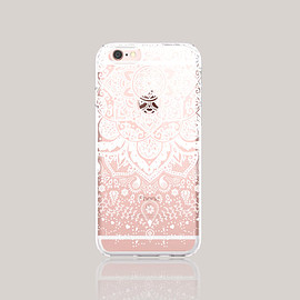 bycsera - iPhone 6s Case Clear Winter iPhone 6s Case White Henna iPhone 6 Plus Clear Lace iPhone Case