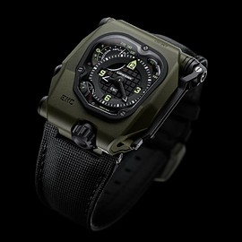 URWERK - EMC Time Hunter Ceramic - O.D./Black