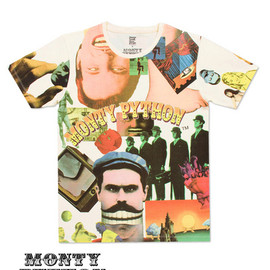 モンティーパイソン - Monty Python Short Sleeve (Collage) Tシャツ