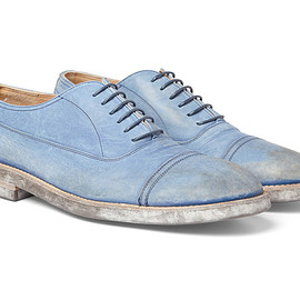 Maison Martin Margiela - Washed Leather Oxford Shoes