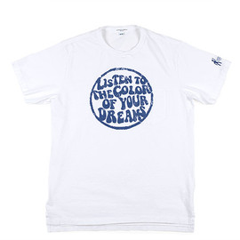 ENGINEERED GARMENTS - Printed Pocket T-Shirt-There is-White