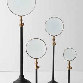 unknown - Standing Magnifying Glass