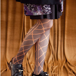 mother - ROPE LATTICE TIGHTS