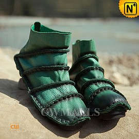 CWMALLS - Leather Ankle Boots