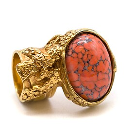 Yves Saint Laurent - ARTY OVAL RING