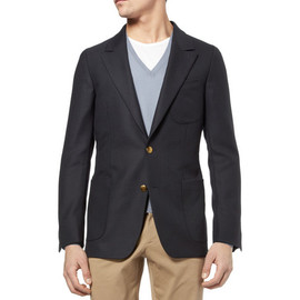 YVES SAINT LAURENT - Classic Wool Blazer 2012