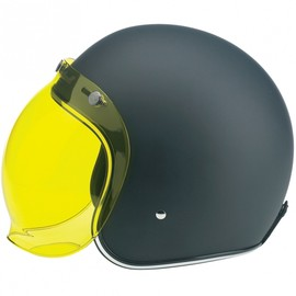 Biltwell - Helmet with Bubble Shield (Yellow Solid)