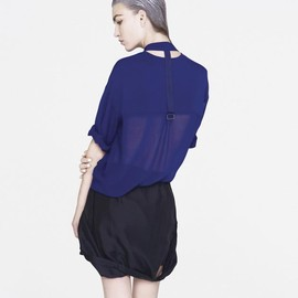 Reflective knitted top
