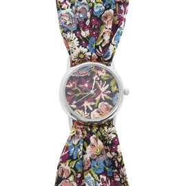 Liberty - Chive Liberty Print Knot Watch