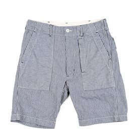 ENGINEERED GARMENTS - Fatigue Short-Railroad st.-Indigo