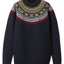 FRED PERRY - British Knitting Men - Fair Isle Knit Sweater