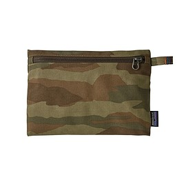 patagonia - Zippered Pouch, Bear Witness Camo HZ: Sage Khaki (BWHS)