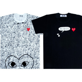 "PLAY COMME des GARCONS - ""Binky & Sheba PLAY"""