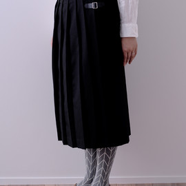 atelier naruse - pleats wrap skirt