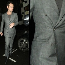Gianni Campagna - Bespoke Grey light wool suit