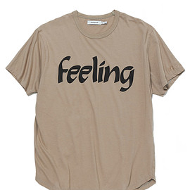 "NONNATIVE - DWELLER S/S TEE COTTON JERSEY ""Feeling"""