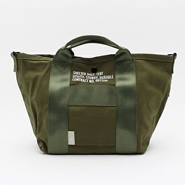 ROOTOTE - ROOTOTE(ルートート)のRT.DEL.SC.ArmyD(トートバッグ)|カーキ
