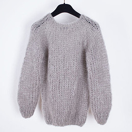 Maiami - Maiami ニット・セーター 【 Maiami 】 Mohair Basic Sweater(3)