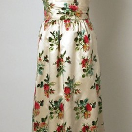 Balenciaga - flower dress, 1960