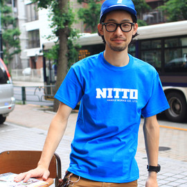 NITTO - logo t-shirt (light blue)