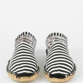 Costa striped espadrilles