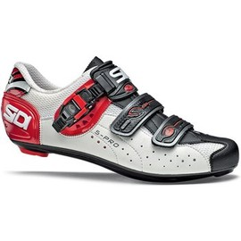 Sidi - Sidi Genius 5 Pro Road Shoe white/black/red