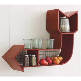 VivaTerra - Retro Arrow Shelf