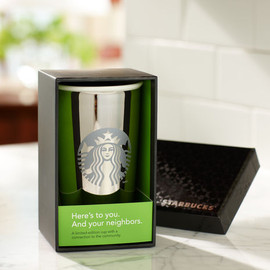 Starbucks - Limited Edition Ceramic Tumbler - White Gold, 12 fl oz