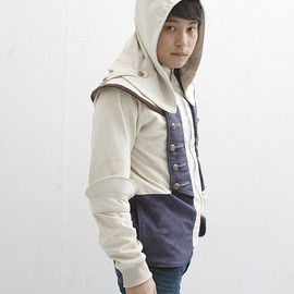 Connor Assassin's Creed 3 Jacket (100% Handmadel) Made To Order