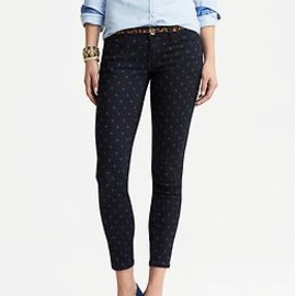 Banana Republic - Dot Skinny Ankle Jean