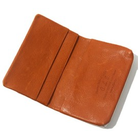 COSMIC WONDER - VEGETABLE TANNED LEATHER CARD CASE