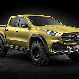 Mercedes-Benz USA - X-Class Pickup May Come to U.S.