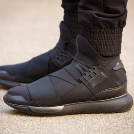 Y-3 - Qasa High All Black