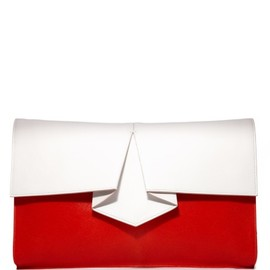 Vionnet - ,Origami Hair Calf Clutch by Vionnet
