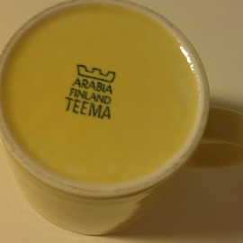 Arabia - Teema Yellow Mug