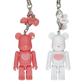 MEDICOM TOY - Happy BE@RBRICK INTERNATIONAL LOVE HEART(ピンク/ホワイト)