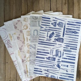 ✳︎ - Vintage Look Paper Set- Old Motif
