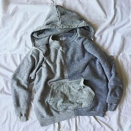 TWONESS - CLASSIC DOUBLE-FACED FLEECE HOODIE