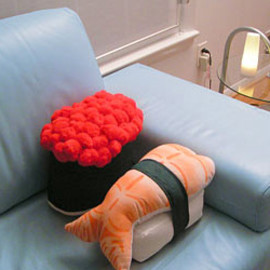 Sushi Pillows