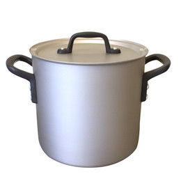 ETOETOTEATO, エトエトテアト - PRO SELECT Stockpot 18cm col.silver×black